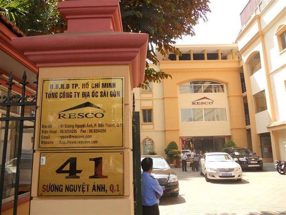 Trụ sở Tổng Công ty địa ốc Sài Gòn tại quận 1, TPHCM