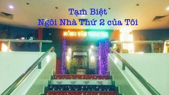 Tấm ảnh chia tay sân khấu kịch SuperBowl của nghệ sĩ Hồng Vân