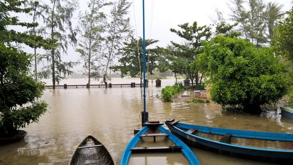 """Bình Định - Phú Yên: Mưa lũ tiếp tục hoành hành, nhiều địa phương chìm trong """"biển lũ"""""""