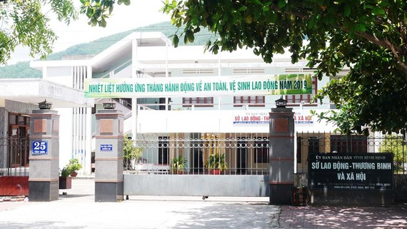 Sở LĐ-TB-XH Bình Định