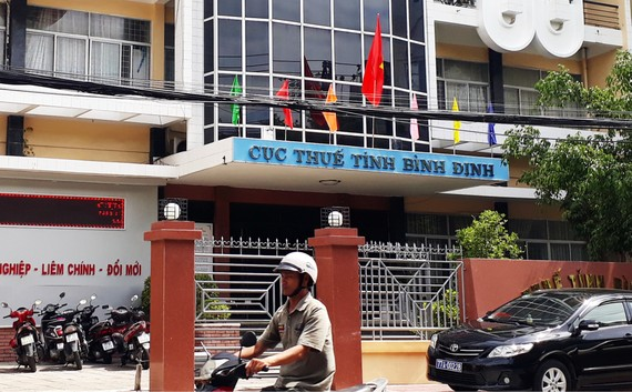 Trụ sở Cục Thuế tỉnh Bình Định nơi ông Thành làm việc