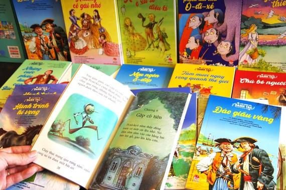 Nhiều tác phẩm văn học nổi tiếng trên thế giới  đã đến với độc giả nhỏ, thông qua hình thức rút gọn