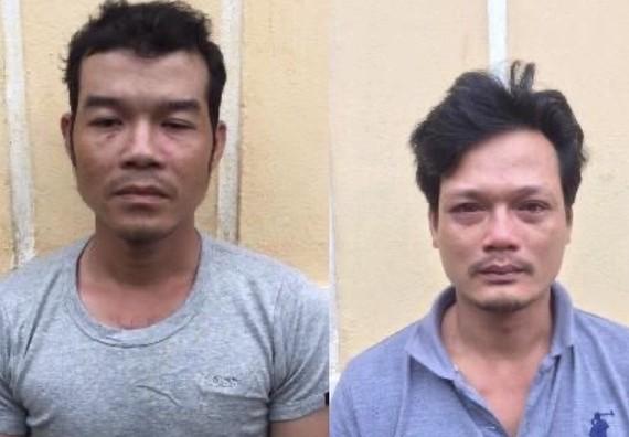 Đối tượng Trần Phước Tài (trái) và Nguyễn Phúc Tình bị cơ quan điều tra tạm giữ hình sự. Cơ quan điều tra cung cấp