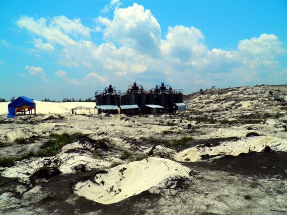 Hơn 13.000 tấn titan đã khai thác tại Quảng Bình