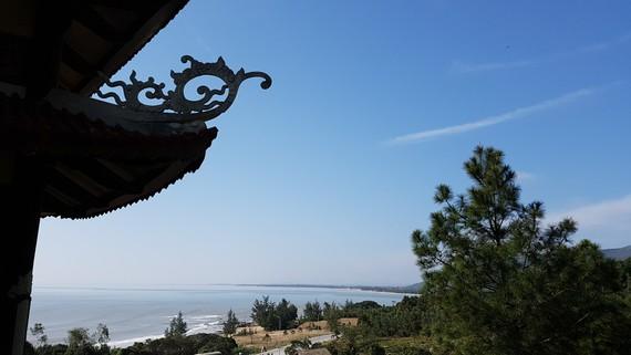 Một góc Vũng Chùa - Đảo Yến