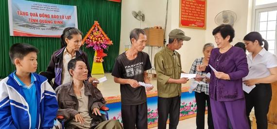 Chi hội Thiện Nhân thăm tặng quà tại Lệ Thủy, Quảng Bình