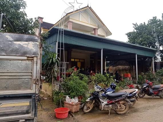 Ngôi nhà xảy ra sự việc ngộ độc khí than ngày 11-1