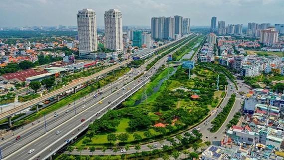Một góc Khu đô thị sáng tạo tương tác cao phía Đông TPHCM. Ảnh: PHAN LÊ