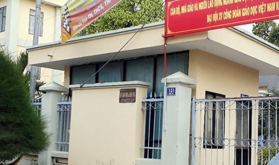Sở GD-ĐT tỉnh Kiên Giang nơi bà Giang làm lãnh đạo và để xảy ra một số vi phạm