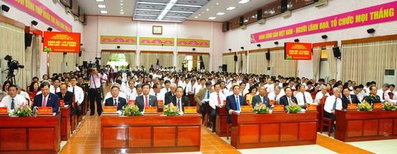 Quang cảnh Đại hội đại biểu Đảng bộ tỉnh Đồng Tháp nhiệm kỳ 2020-2025