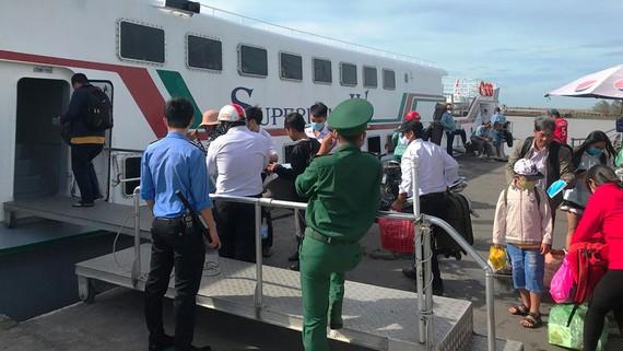 Kiên Giang khai trương tuyến tàu cao tốc Rạch Giá - Hòn Nghệ