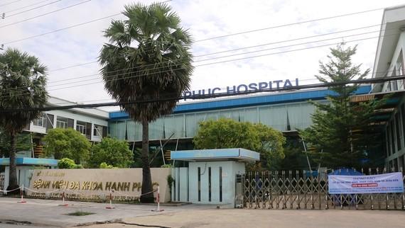 Bệnh viện đa khoa Hạnh Phúc đã dừng việc nhận đăng ký tiêm phòng Covid-19
