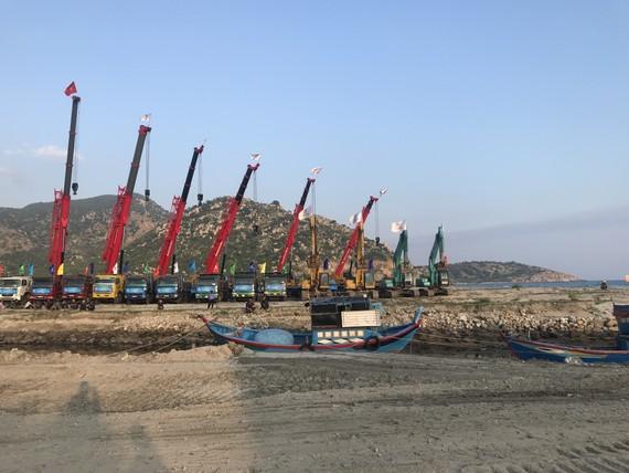 Dự án cảng biển tổng hợp Cà Ná giai đoạn 1 đã được UBND tỉnh Ninh Thuận phê duyệt quy hoạch chi tiết 1/500 với tổng diện tích 108,09ha
