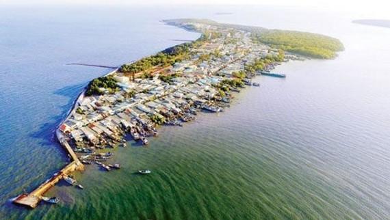 Xã đảo Thạnh An, huyện Cần Giờ, TPHCM. Nguồn: daothanhan.com