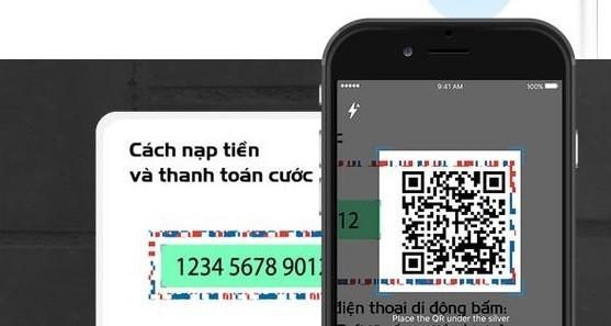 Dùng MobiFone NEXT là ứng dụng quét mã QR code in trên thẻ cào