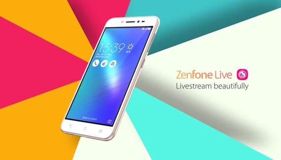 ZenFone Live là chiếc di động cho giới trẻ