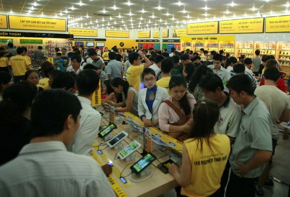 Thế Giới Di Động hiện là hệ thống bán lẻ hàng điện tử hàng đầu hiện nay