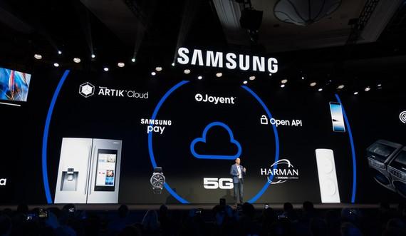 Samsung chính thức giới thiệu vạn vật kết nối Internet