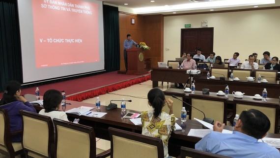 Hội nghị trao đổi Phương án Xây dựng Cơ sở dữ liệu người dân