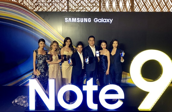 Note 9 đã chính thức có mặt tại Việt Nam