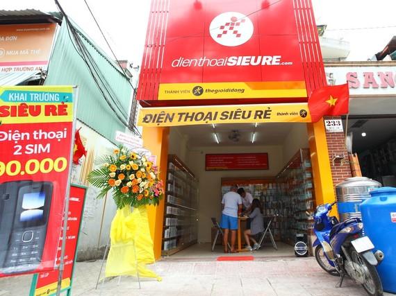 Một cửa hàng trong chuỗi Điện Thoại Siêu Rẻ