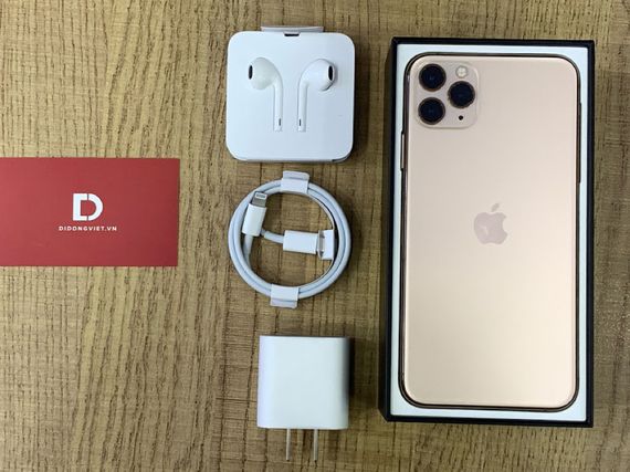 Mở hộp iPhone 11 Pro Max