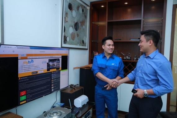 Tốc độ Internet tốt giúp các dịch vụ của VNPT thêm nhiều khách hàng