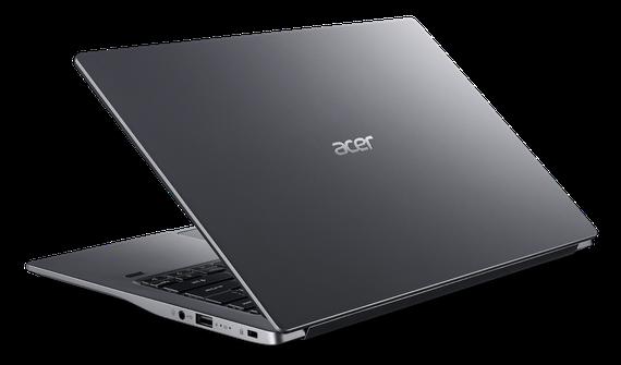 Acer Swift 3 S màu xám