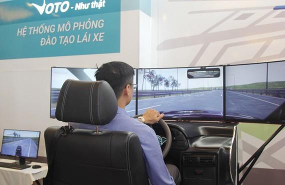 Hệ thống mô phỏng đào tạo lái xe ô tô  Voto