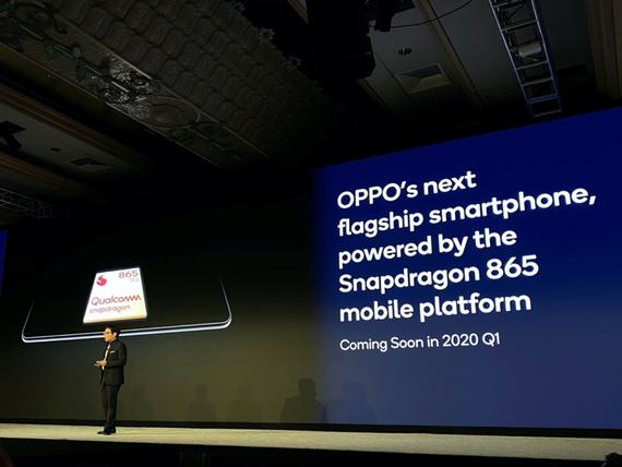 Alen Wu – Phó Chủ tịch và Chủ tịch mảng Bán hàng toàn cầu của OPPO, phát biểu tại Qualcomm Snapdragon Tech Summit