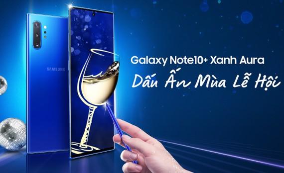 Galaxy Note10+ phiên bản màu Xanh Aura