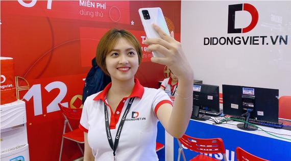 Đặt trước Galaxy A51 với nhiều ưu đãi hấp dẫn tại Di Động Việt