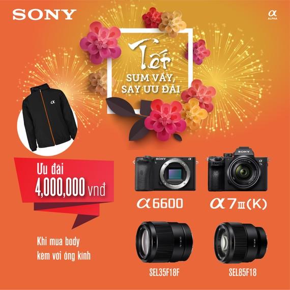 Sony giới thiệu nhiều chương trình khuyến mãi mùa Tết 2020