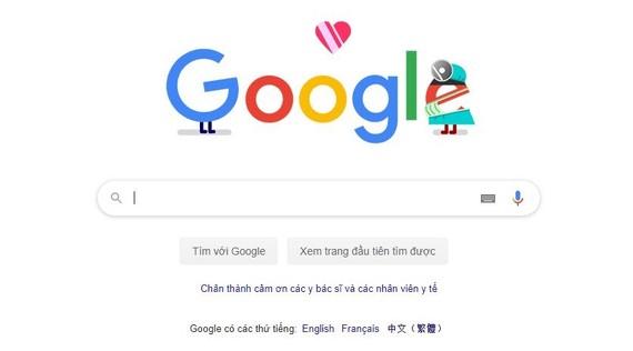 Google bắt đầu tuần lễ tri ân những người đầu tuyến chống dịch COVID-19.