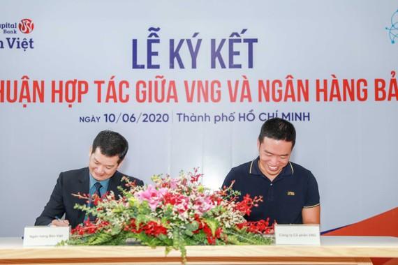 VNG và ngân hàng TMCP Bản Việt đã ký kết thỏa thuận hợp tác về việc sử dụng giải pháp TrueID