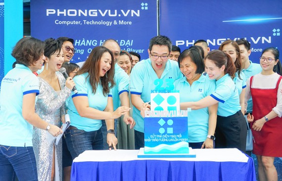 Phong Vũ kỷ niệm 23 năm ngày thành lập