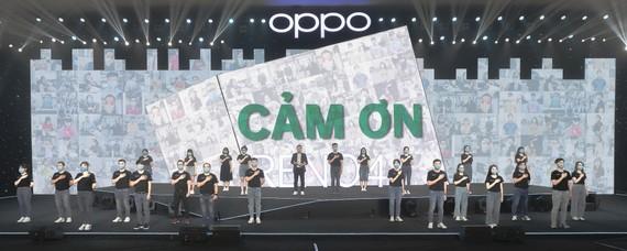 OPPO gửi lời cảm ơn những người dùng, các O-fans, những người luôn ủng hộ và đón nhận các sản phẩm đến từ thương hiệu OPPO