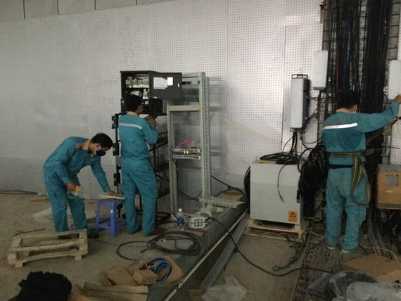 Viettel lắp đặt hạ tầng 4G tại Cung thể thao Thiên Sơn