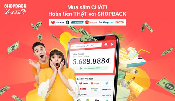 ShopBack là dịch vụ hoàn tiền  từ hơn 150 đối tác