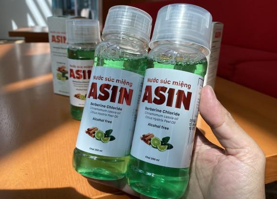 Nước súc miệng ASIN