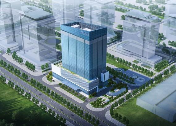 Trung tâm R&D của Samsung đang được xây dựng tại Hà Nội