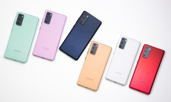Galaxy S20 FE với nhiều màu sắc trẻ trung