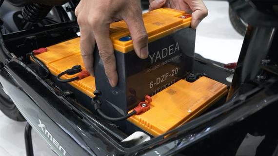 Ắc quy Graphene được dùng trên hãng xe điện YADEA