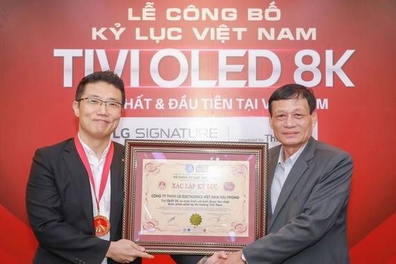 TV LG OLED 8K lập kỷ lục Việt Nam