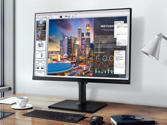 Samsung giới thiệu 2 mẫu màn hình T35F và T45F