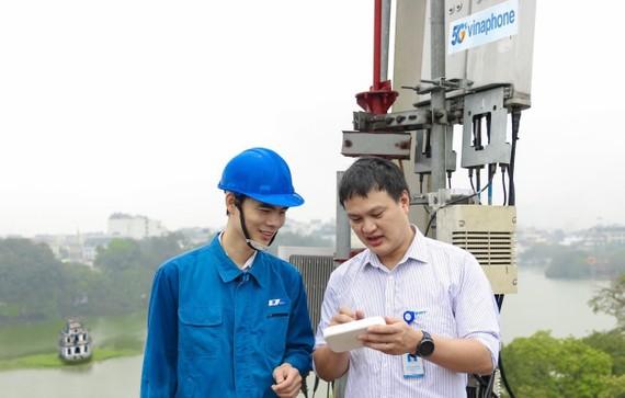 VinaPhone lắp đặt 5G tại Hà Nội