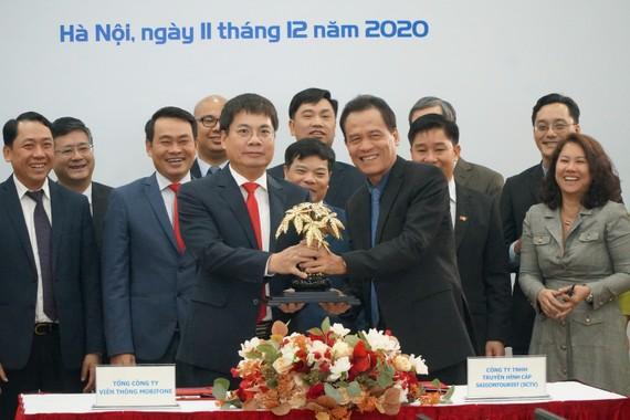 MobiFone và SCTV ký kết Thỏa thuận hợp tác chiến lược toàn diện
