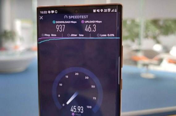 5G Viettel trên  Samsung Note20 Ultra 5G