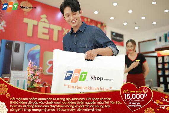 """FPT Shop mang """"Tết sum vầy"""" đến cho mọi nhà"""