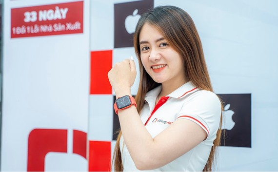 Apple Watch 6 hiện đang giảm còn 9,4 triệu đồng tại Di Động Việt